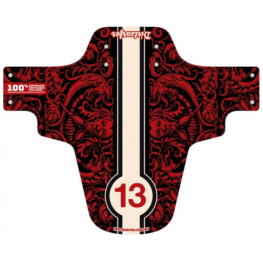 Red Demons mudguard