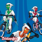 The Trail Ninjas mudguard