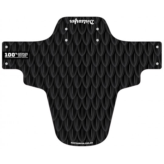 Scales Black mudguard