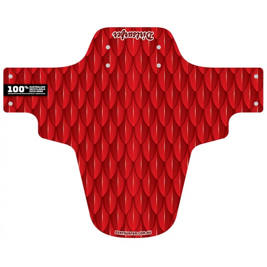 Scales Red mudguard