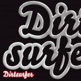 Dirtsurfer Chrome Logo mudguard