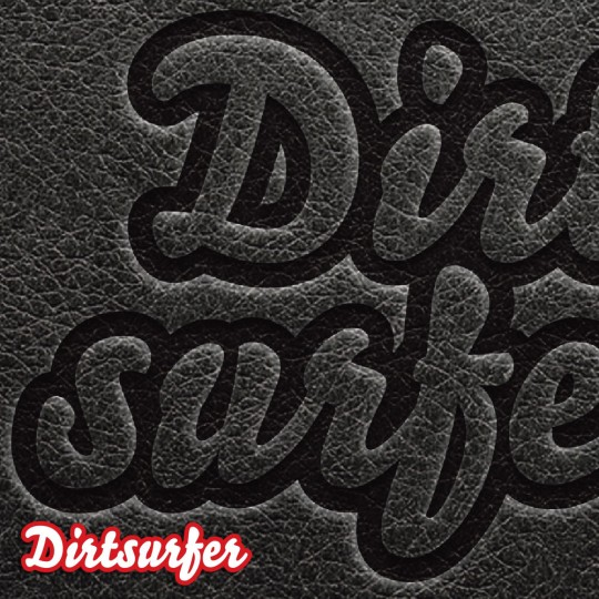 Dirtsurfer Leather Logo mudguard