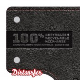Dirtsurfer Leather Logo mudguard