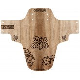 Dirtsurfer Wood Cut Logo mudguard