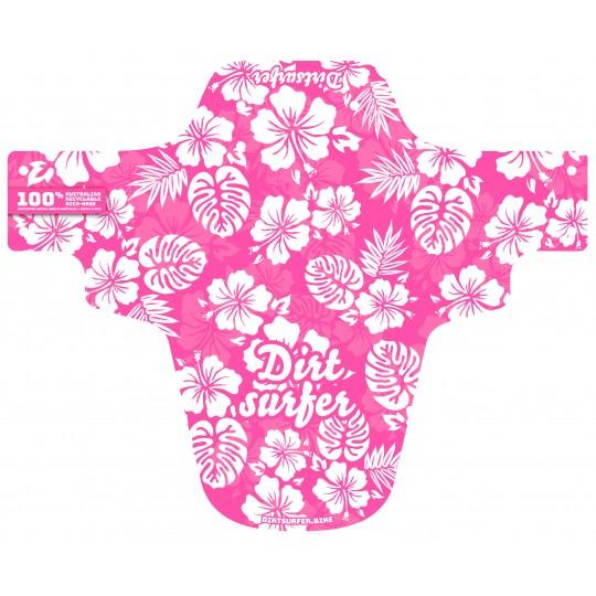Pink Hawaii mudguard